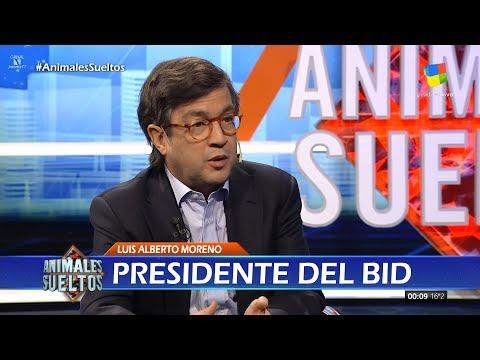"""L.A.Moreno (Presidente del BID) en """"Animales sueltos"""" de Alejandro Fantino - 30/10/17"""