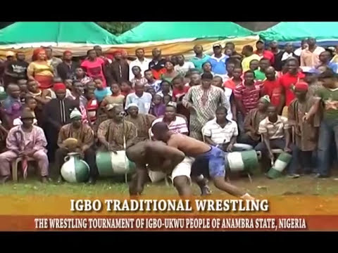 IGBO TRADITIONAL WRESTLING COMPETITION