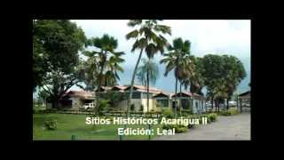 Sitios Historicos Acarigua II Temporada Paque Musiú Carmelo