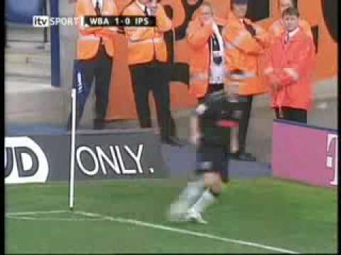 Filipe Teixeira.. West Bromwich Albion Vs Ipswich 4-0.flv