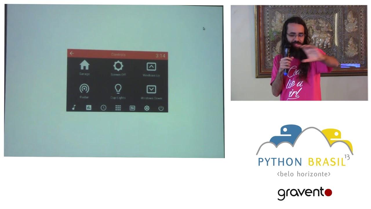 Image from Kivy: Python no celular e vários outros lugares! - Diego Guimarães