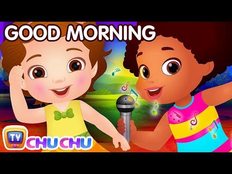 Good Morning Song - Good Habits For Children   ChuChu TV Nursery Rhymes & Kids Songs