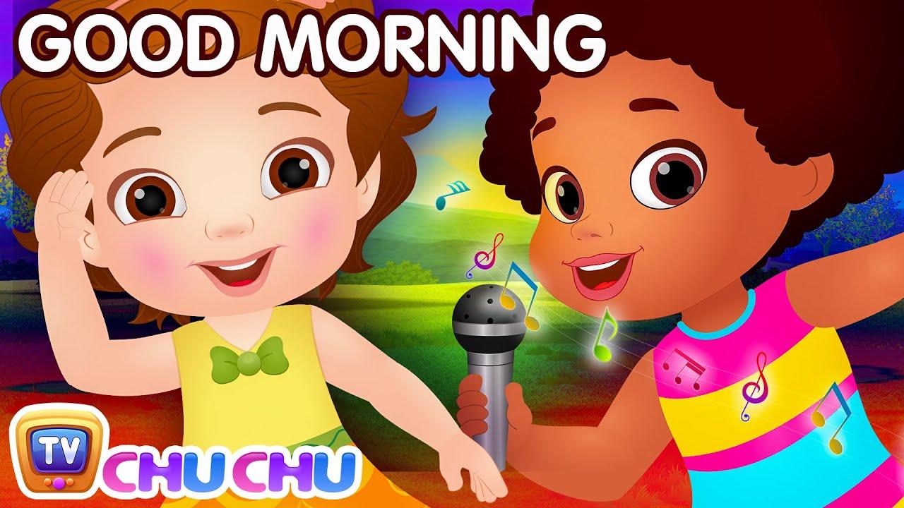 good morning song good habits for children chuchu tv nursery rhymes kids songs youtube. Black Bedroom Furniture Sets. Home Design Ideas