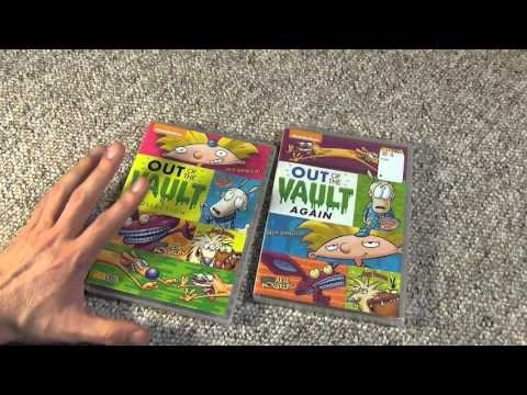 Nickelodeon Out of the Vault Again DVD by Shout! Factory Unboxing