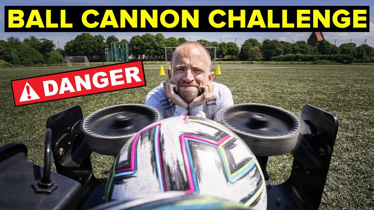 ULTIMATE BALL CANNON CHALLENGE   Unisport football challenges