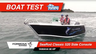 Tested | Formosa 520 Sea Rod Classic Side Console with Yamaha F90