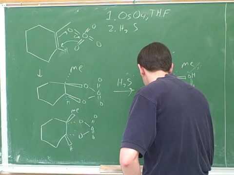 Dihydroxylation of alkenes (3)