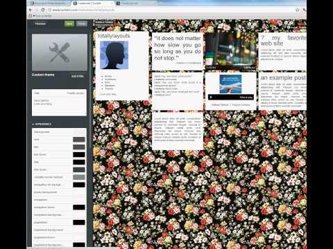 How To Install Tumblr Theme