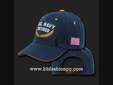 US ARMY - NAVY - MARINES - CAPS/HATS - HUGE SELECTION -  WWW.BHFASHIONCO.COM