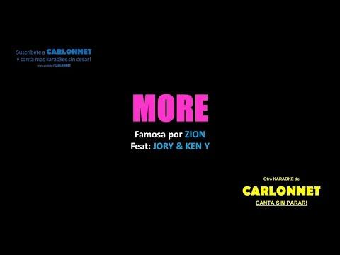 More (Karaoke) - Zion