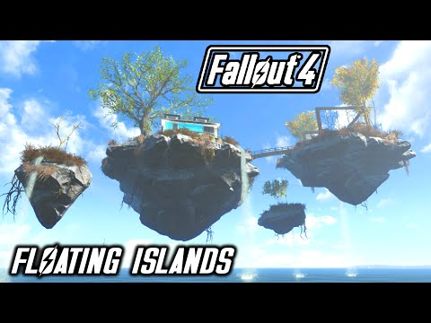 FALLOUT 4 - FLOATING ISLANDS SETTLEMENT SORANO!! - PC MOD 1080P 60FPS