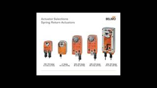 Damper Actuator Sizing and Selection