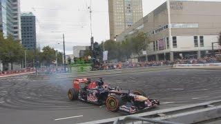 Max Verstappen Formula 1 crash VKV City Racing 2014