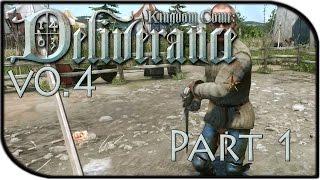Kingdom Come: Deliverance Gameplay Part 1 - COMBAT UPDATE, NEW QUESTS, BIGGER MAP! (Alpha 0.4)