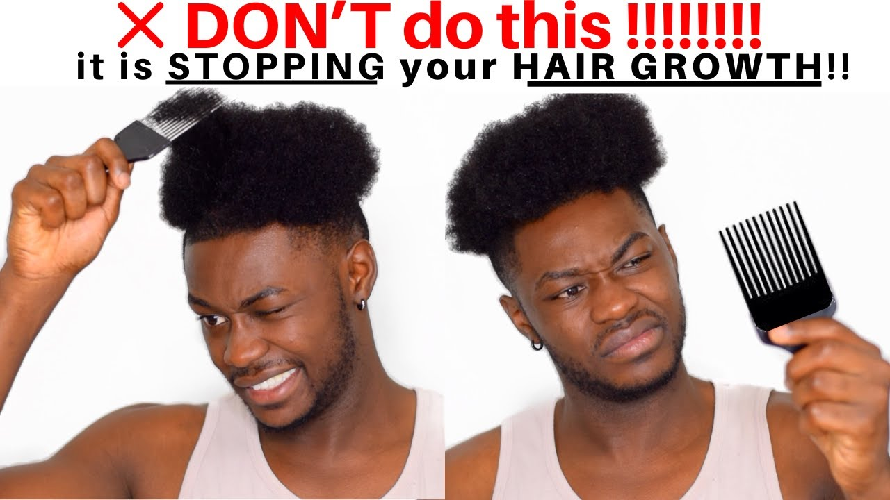 5 Step Routine Guide To Soften Coarse African American Male Hair