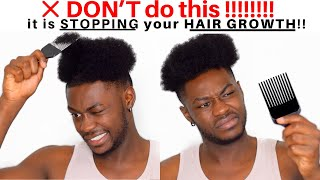HOW TO vs. HΟW NOT TO PICK YOUR HAIR! | 𝙃𝙖𝙞𝙧 𝙂𝙧𝙤𝙬𝙩𝙝 𝙏𝙞𝙥!