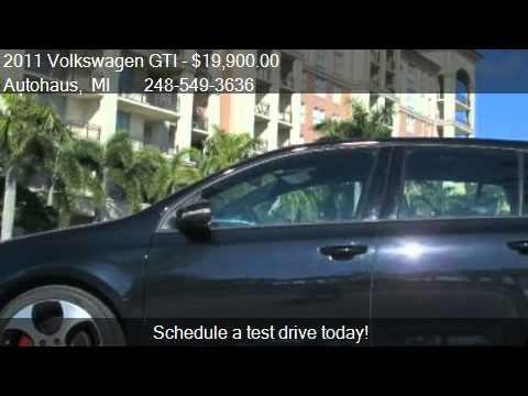 2011 Volkswagen GTI 2.0T Sedan - for sale in Royal Oak, MI 4