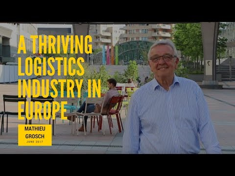 A thriving logistics industry in Europe
