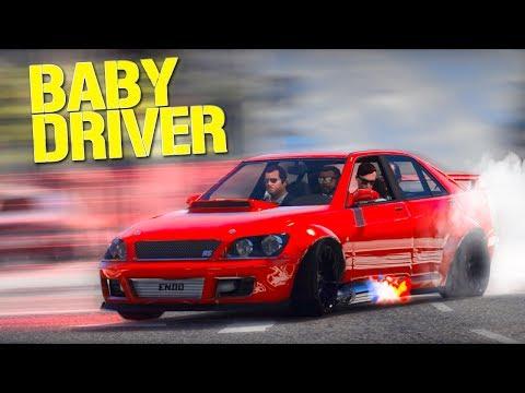 Grand Theft Auto 5 - Baby Driver - GTA 5 Short Film