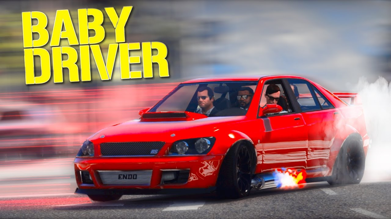 Baby Driver Gets the GTA Treatment