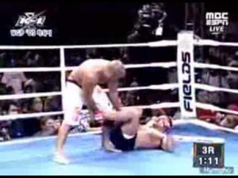 Bj Penn vs Renzo Gracie K1 World grand prix Hawaii Full Fight