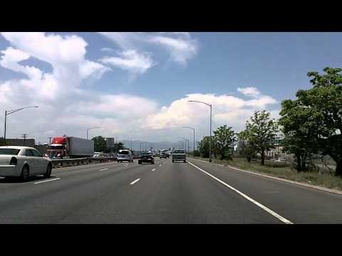 Driving Around Denver, Colorado: I-70, 25, Downtown