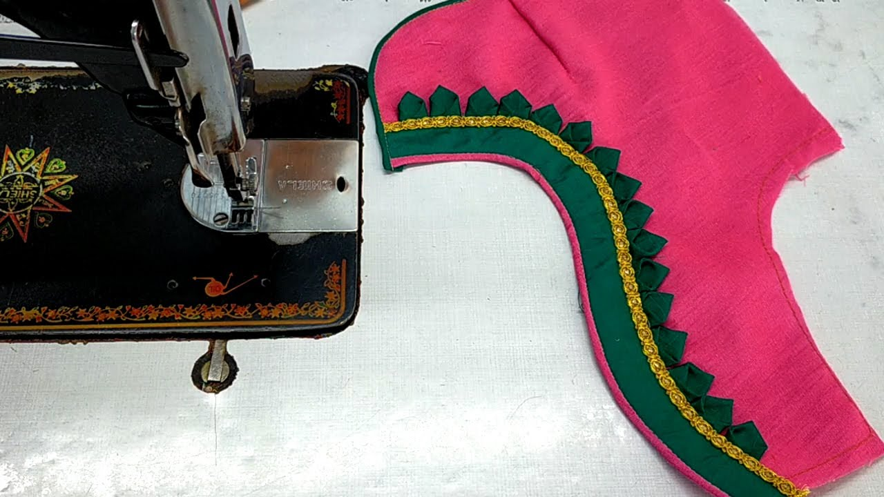 new latest model blouse cutting and stitching