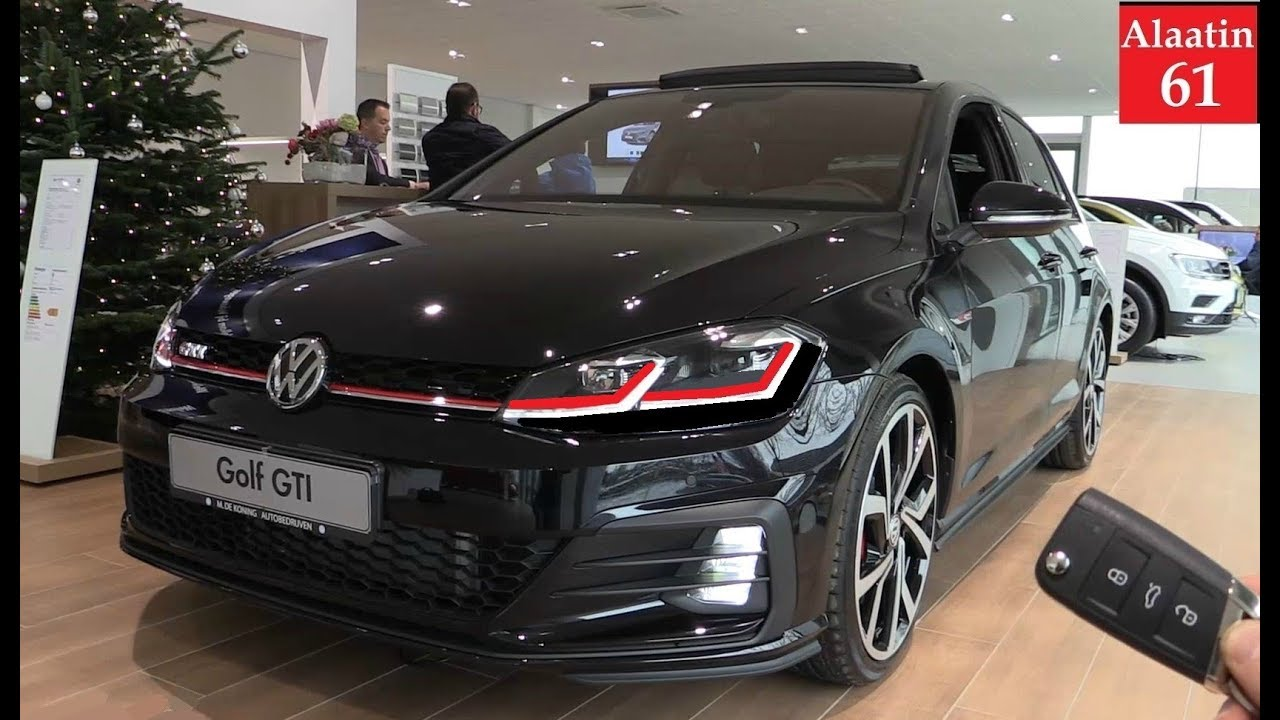 2018 Golf Gti >> Details Of The Vw Golf Gti Performance 2018 Sound Interior Exterior