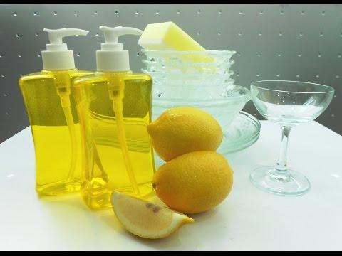 วิธีทำน้ำยาล้างจาน ( how to make dishwashing liquid )