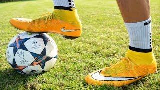 test new cr7 2014 cristiano ronaldo boots nike mercurial superfly fg laser orange white black