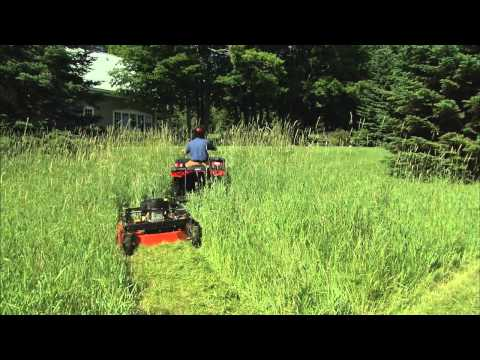 The NEW DR Tow-Behind Field and Brush Mower