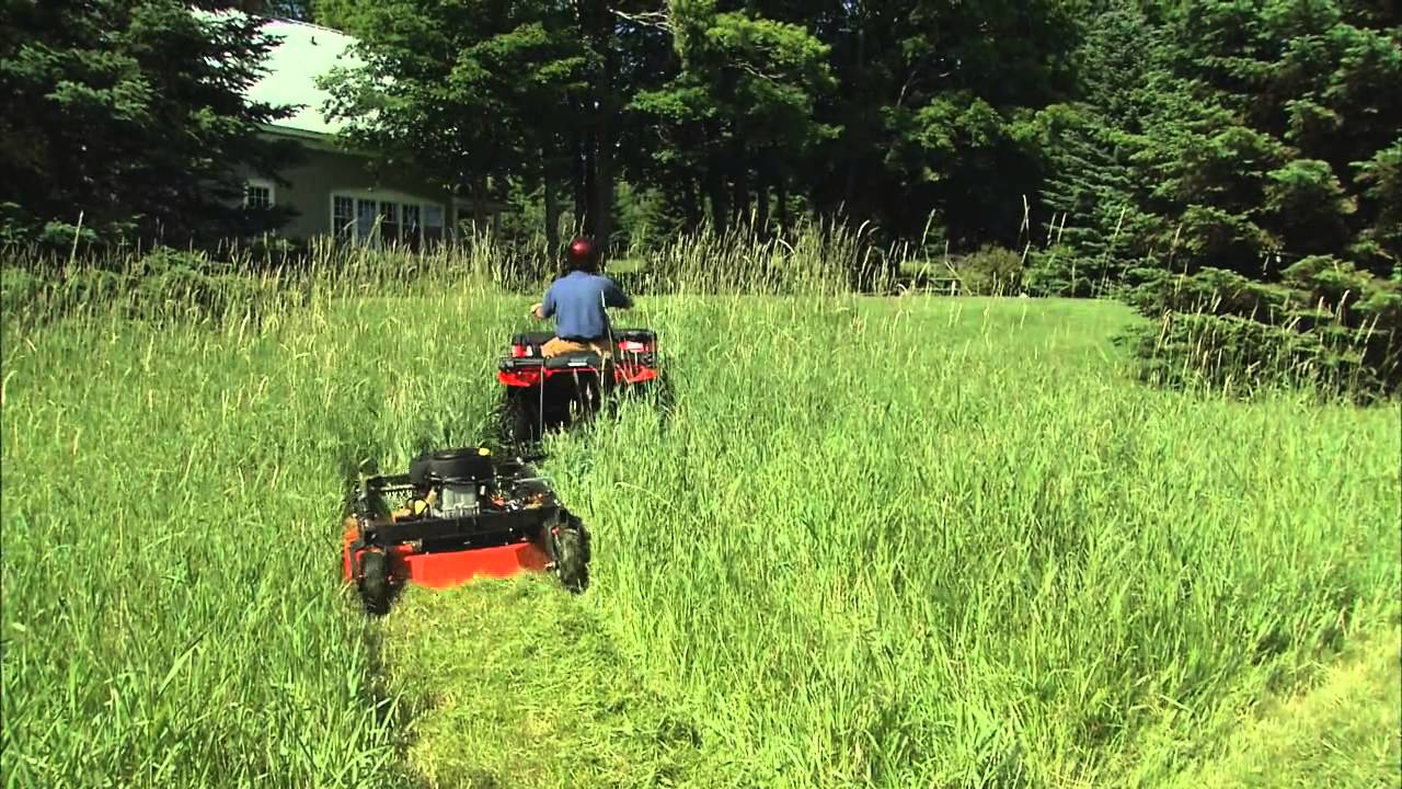 The New Dr Tow Behind Field And Brush Mower Youtube