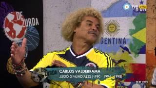 De zurda - La visita de Carlos Valderrama - 24-06-14 (1 de 4)