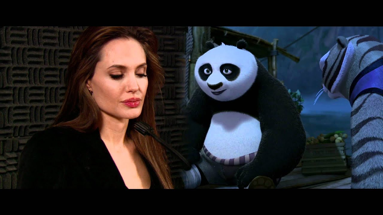 Angelina Jolie Discusses Her Role As Tigress