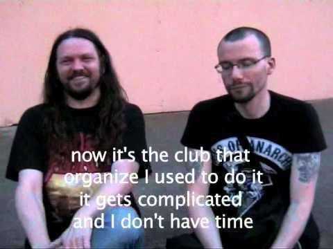 Anthem of steel festival thrashback interview for The Metal Mag #9