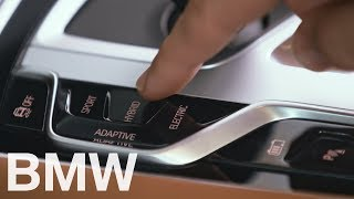 Choose between the different new eDrive modes – BMW How-To