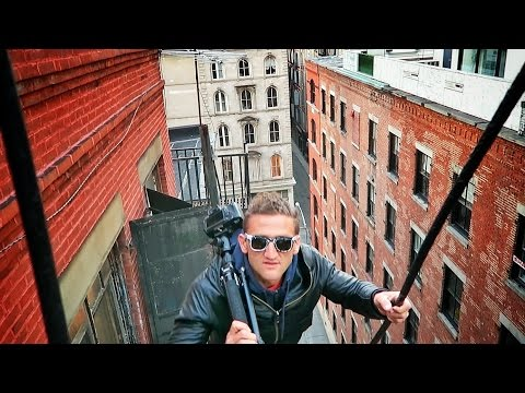 Thumbnail: Climbing Fire Escapes in NYC