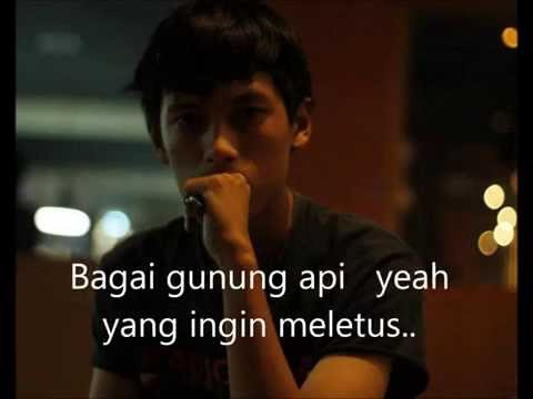 Slank Reaksi Kimia ( Lyric) - Cover Acoustic By Rully Nugraha