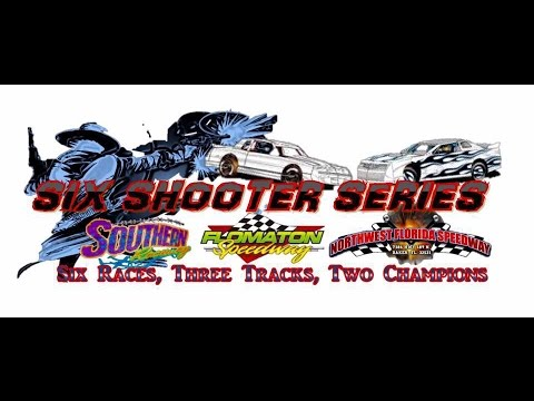 Northwest Florida Speedway 9/17/16 SIX SHOOTER SERIES RACE #6 and MORE!