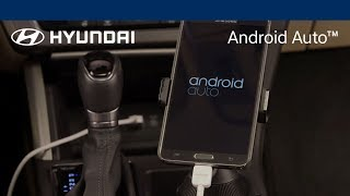 Hyundai Android Auto Getting Started