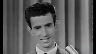 22 year old Frank Zappa appears on 'The Steve Allen Show' in 1963.