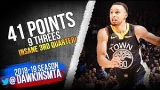 Stephen Curry Full Highlights 2019.01.16 Warriors vs Pelicans - 41 Pts, INSANE 3rd by NBA videos