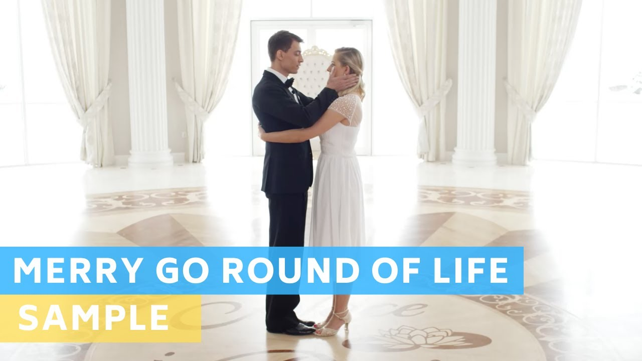 Sample Tutorial: Merry Go Round of Life - Howl's Moving Castle | Wedding Dance Online | First Dance