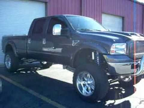 2006 Ford F250 SuperDuty Crew Cab Lariat - YouTube