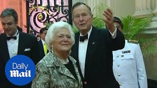 Former First Lady Barbara Bush is seriously ill - Daily Mail