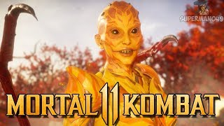 "AMAZING MATCHES PLAYING D'VORAH - Mortal Kombat 11: ""D'vorah"" Gameplay"