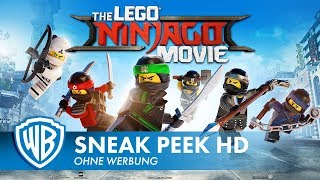 THE LEGO NINJAGO MOVIE - 6 Minuten Sneak Peek Deutsch HD German (2018)