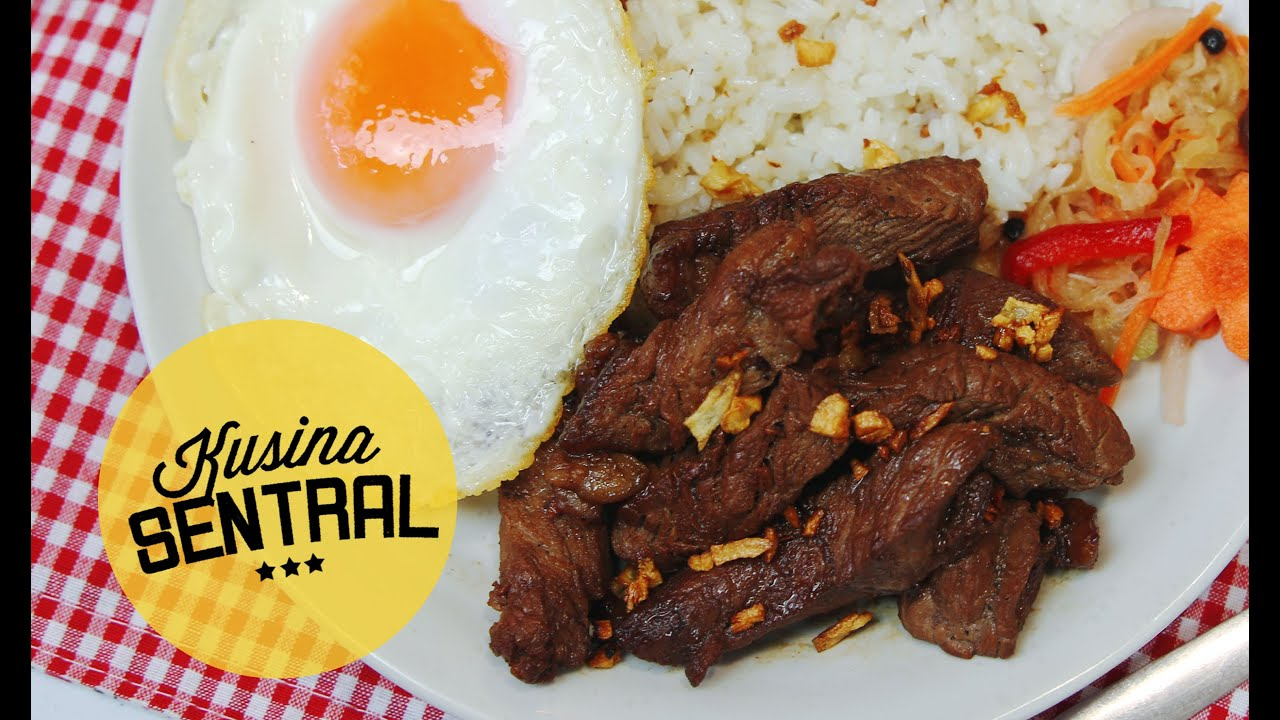 FILIPINO BREAKFAST TAPSILOG
