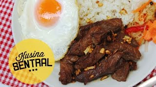 FILIPINO BREAKFAST: TAPSILOG | NEW FILIPINO COOKING CHANNEL | Kusina Sentral