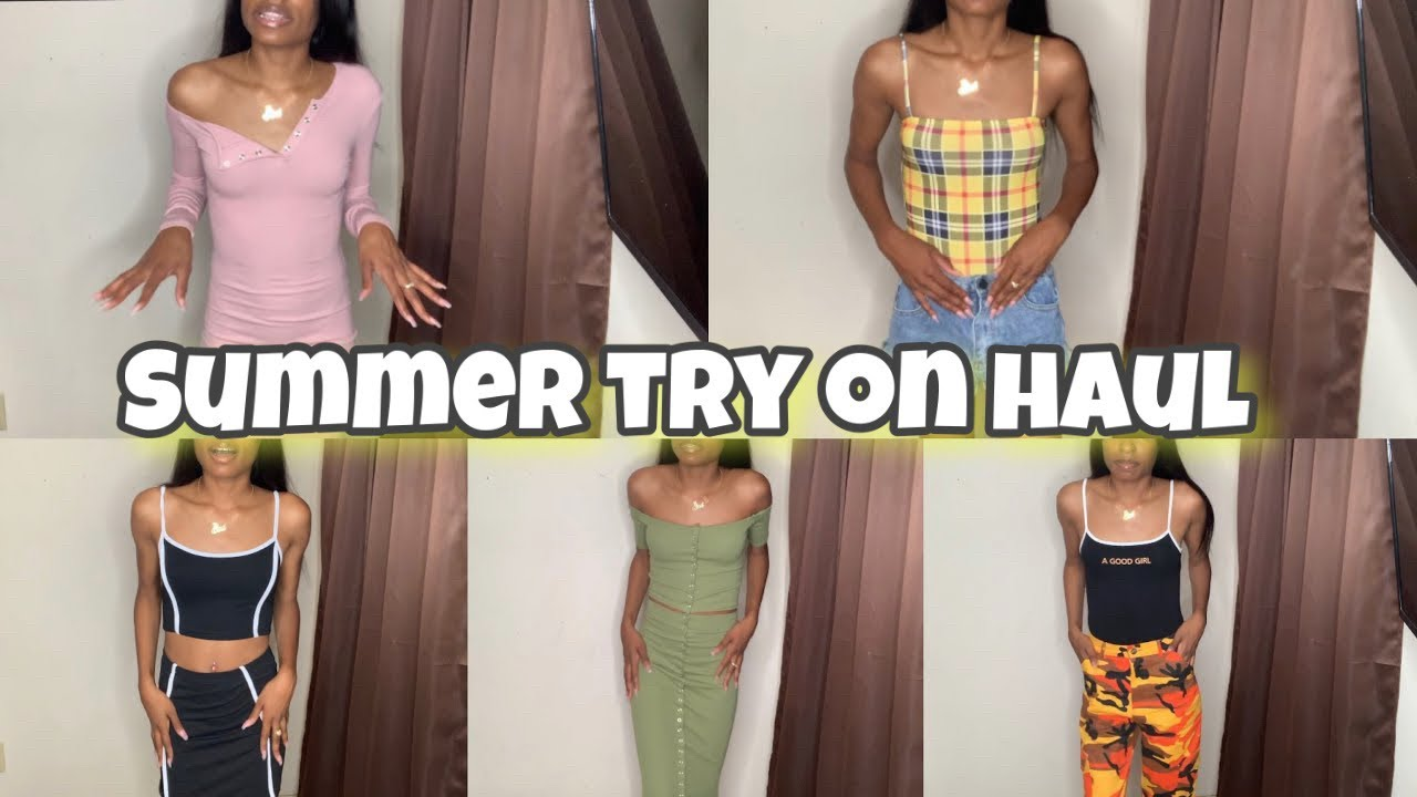 [VIDEO] - SUMMER OUTFITS Try-on Haul - HUGE LUPSONA HAUL 2019 3